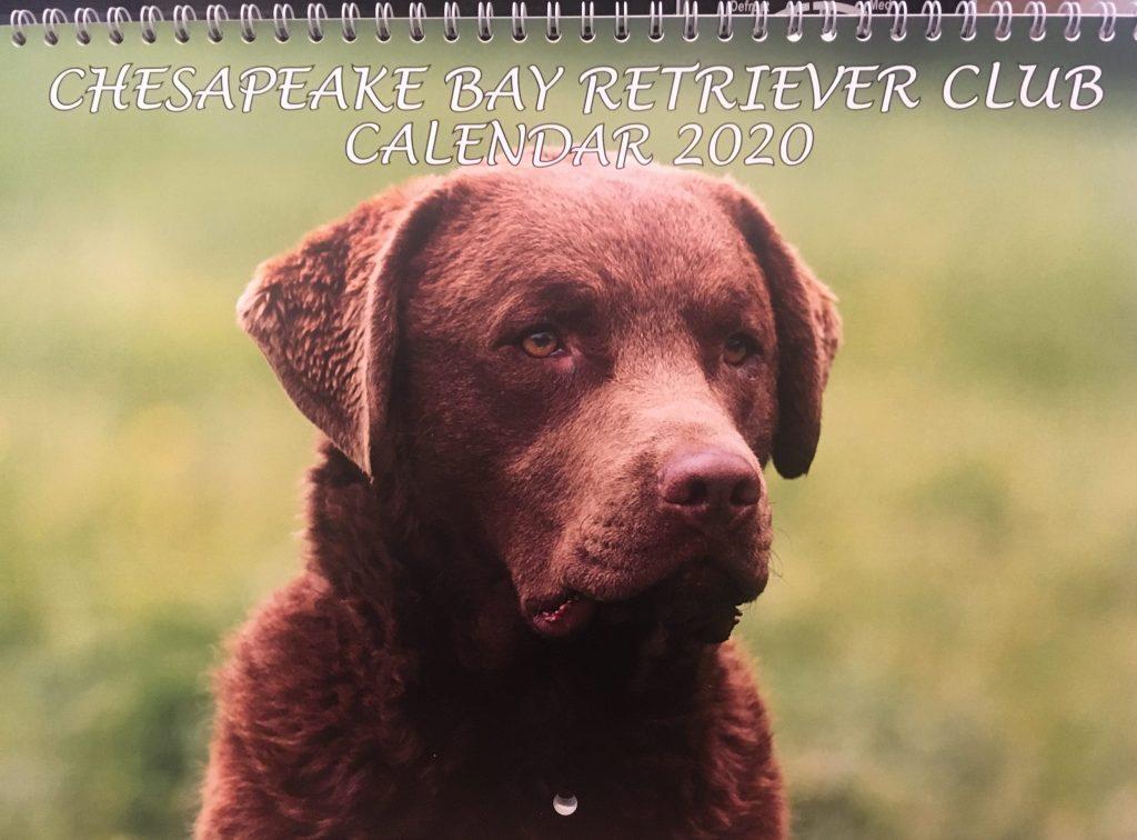 Photo of the 2020 CBRC Calendar